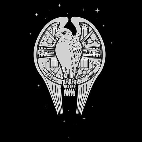 Star Wars Fastest Falcon in the Universe Tshirt