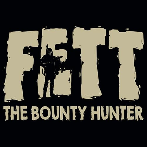 Star Wars Boba Fett The Bounty Hunter Tshirt