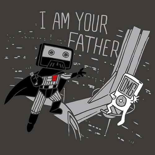 Star Wars I Am Your Father Tshirt