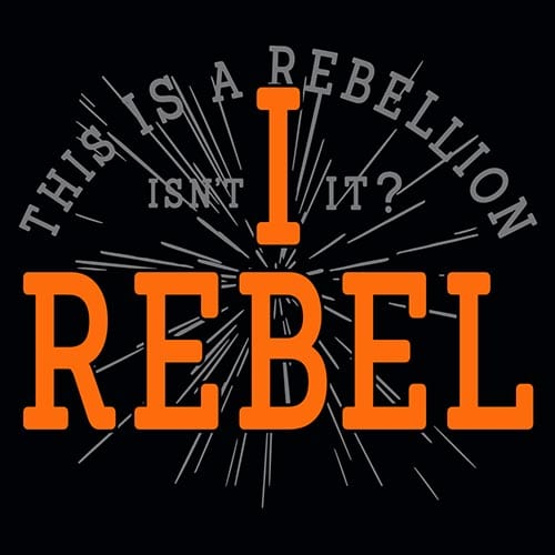 Star Wars I Rebel Tshirt
