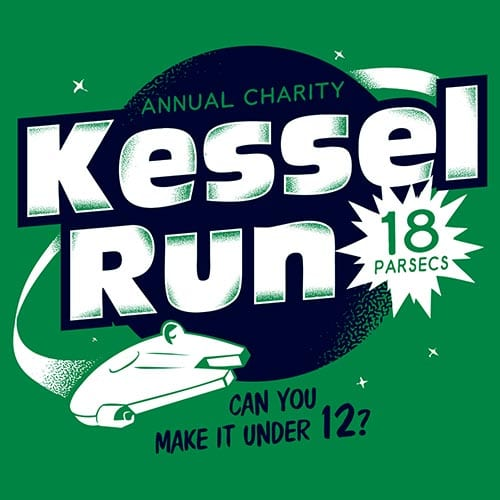 Star Wars Kessel Run Tshirt