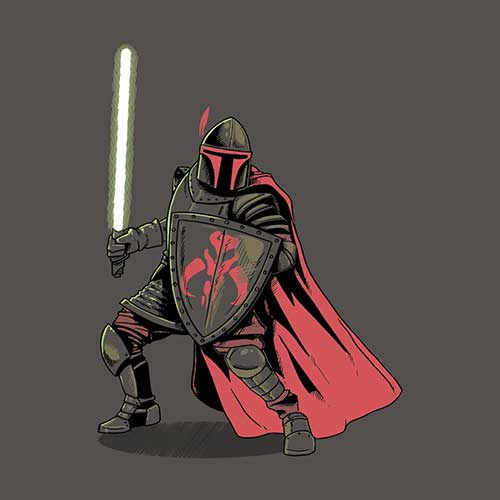 Star Wars Mandalorian Knight Tshirt