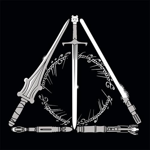 Star Wars Nerdy Hallows Tshirt