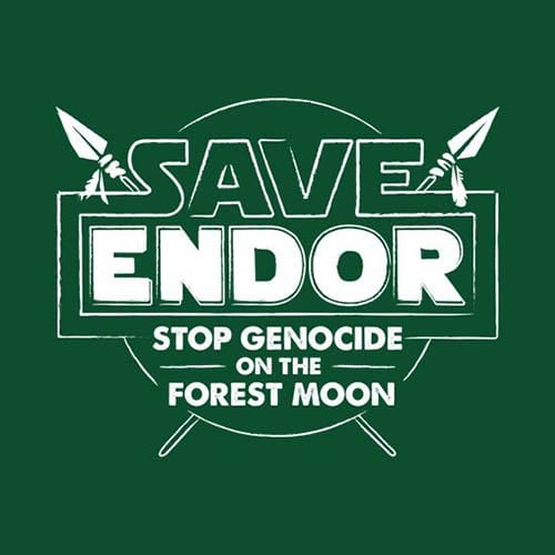 Star Wars Save Endor Tshirt