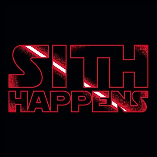 Star Wars Sith Happens Tshirt