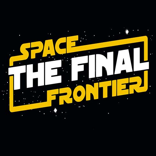 Star Wars The Final Frontier Tshirt