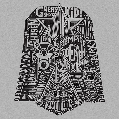 Star Wars Star Words Tshirt