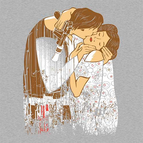Star Wars The Kiss Tshirt