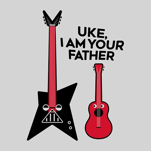 Star Wars Uke I Am Your Father Tshirt