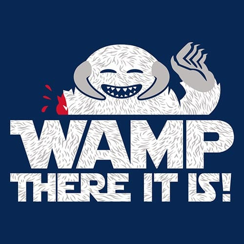 Star Wars Wamp There It Is Tshirt