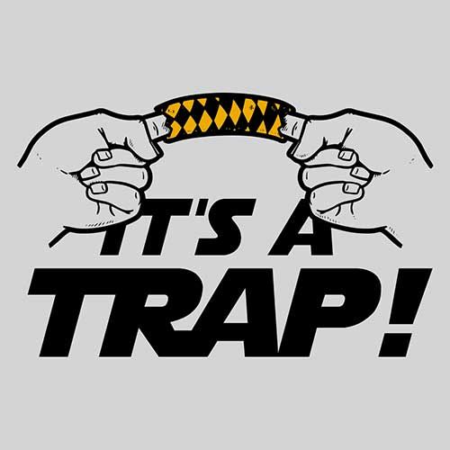 Star Wars It's a Trap Tshirt