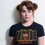Women's Stay on Target Star Wars T-shirt